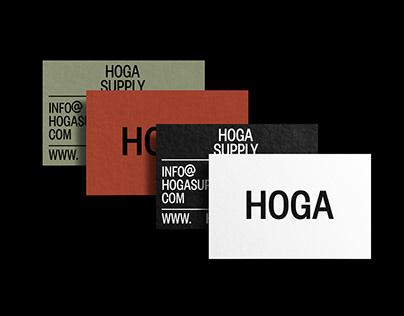 HOGA Brand Identity