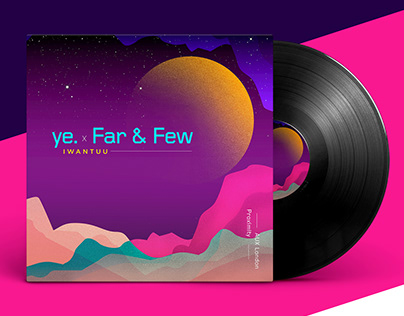 Album art Design | Ye. Far & Few