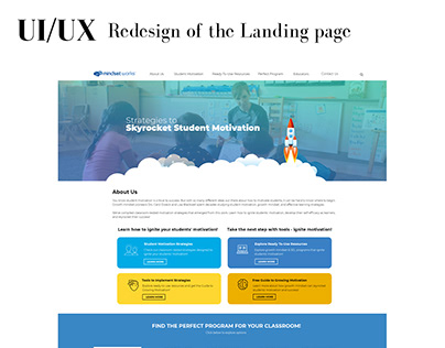 Landing page - Redesign