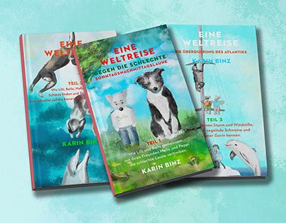 Kinderbuch Reihe Bello und Lilli auf Weltumseglung