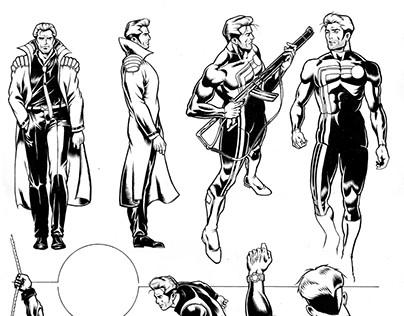 Comic, Character design