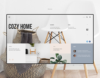 Website. Cozy home