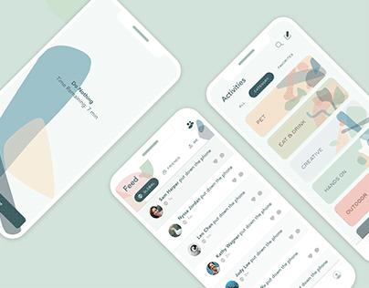 PAUSE | UI, Branding
