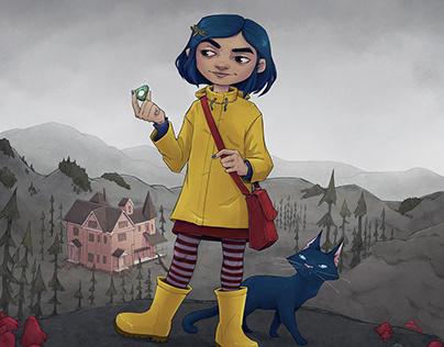 Illustration | Coraline
