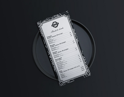 Wine Menu for OST