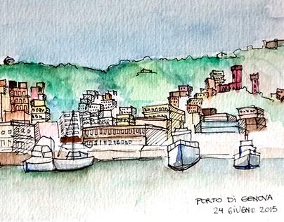 ACUARELAS | Genova, Italia