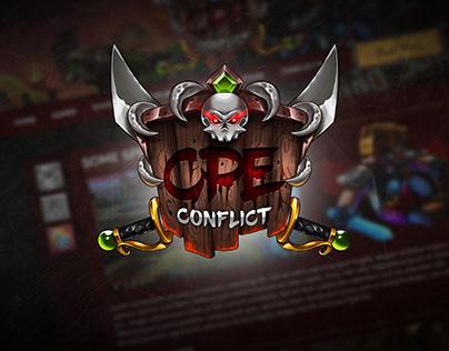 ConflictPE   Website Concepts