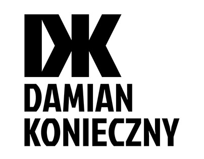 DK Damian Konieczny - Fashion Designer Logo + Iden 2014