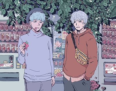 Rose Boys - Illustration