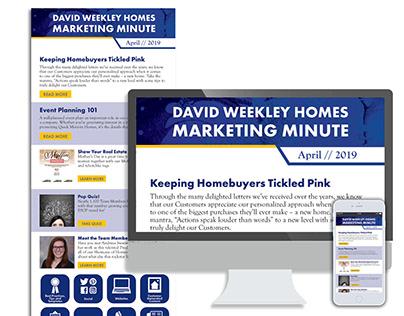 Marketing Minute Newsletter - 2019 GDUSA Winner