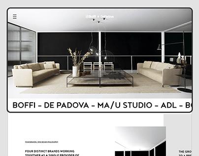Boffi   De Padova Website proposal