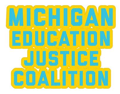 Michigan Education Justice Coalition Branding