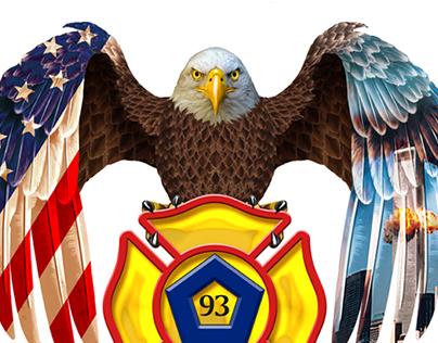 911 T shirt Illustration