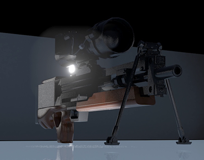 Walther WA2000 Sniper Rifle