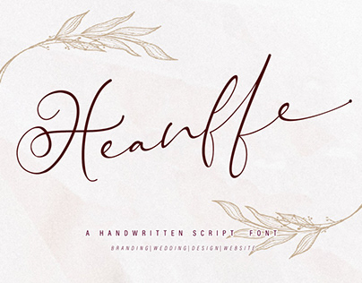FREE Heanffe Script Font