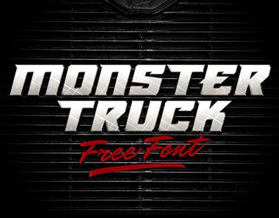 Monster Truck Font