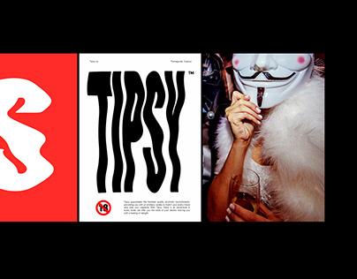 Brand Identity Design for Tipsy
