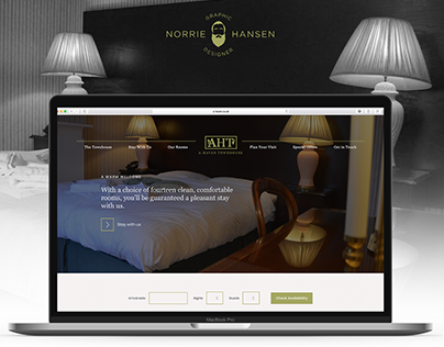 A-Haven Townhouse Website