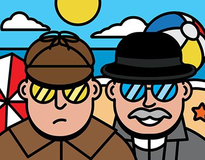 Sherlock and Watson's holiday