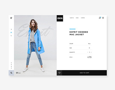ASOS | Website Product Page Design Concept