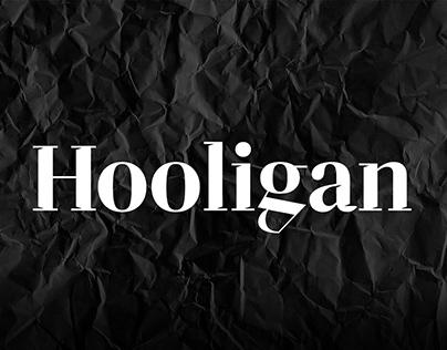 Hooligan - Free Display Font