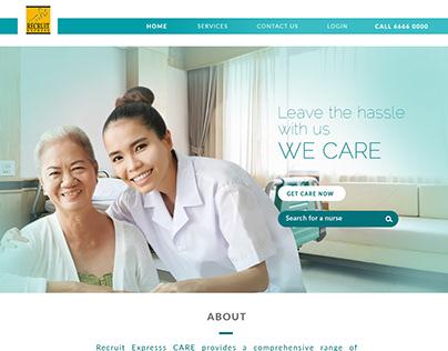 Recruit Express CARE Website