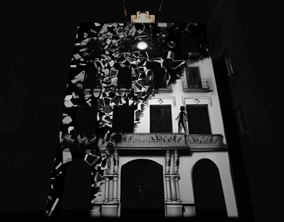 SUR/REALISM / video mapping installation