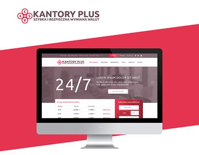 Kantory Plus – website