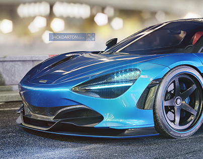 Aggressive McLaren 720s