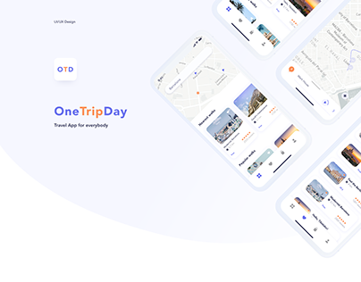 OneTripDay - IOS App for travelers