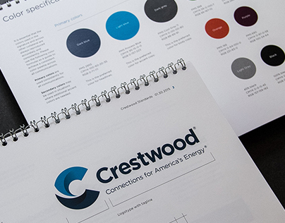 Crestwood Rebrand: Connections for America's Energy.