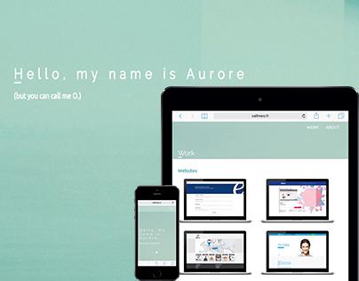 Call me O. | My Portfolio