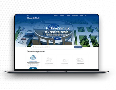 Allianz Tekink Responsive Web Site