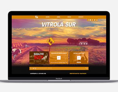 Web - Vitrola Sur