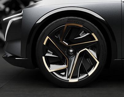 Nissan-IMs_Concept wheel