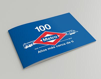 Centenario Metro de Madrid. Propuesta-Logo.