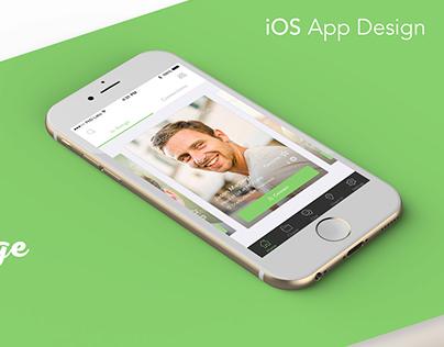 App design for a Tinder like app