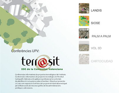 Poster made to the conference Terrasit at UPV