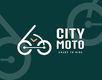 City moto Ride Sharing Logo