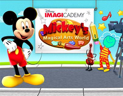 UI Design: Mickey's Magical Arts World