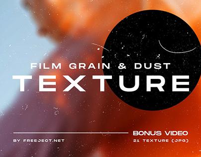 Free DEMO Film Grain & Dust Texture Overlay