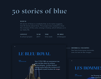 50 Stories of Blue