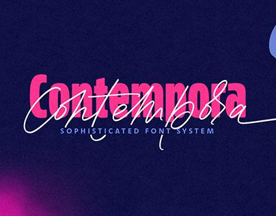 Contempora Font Family