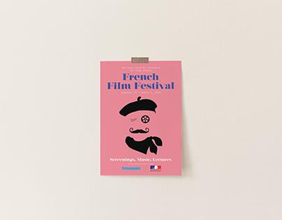 French Film Festival Poster Design