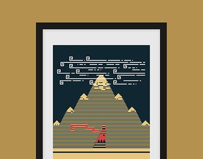 """Mural"" Journey Print"