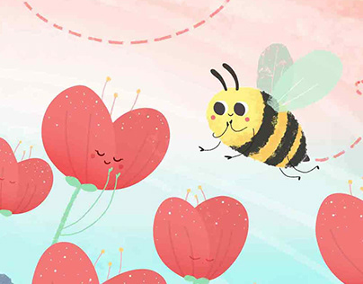 Flower and the bee