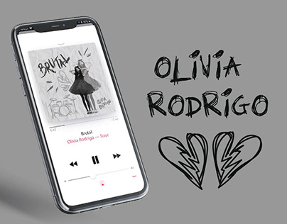 Olivia Rodrigo l Album Cover