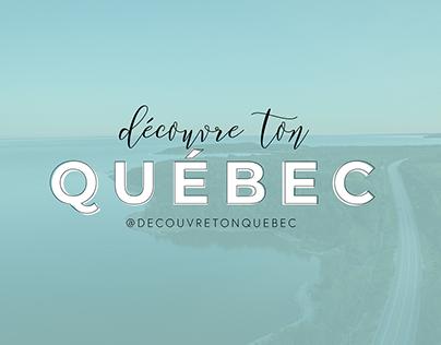 Découvre ton Québec / branding