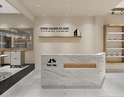 哈喽设计 | PET ME! 飞米宠物店空间设计