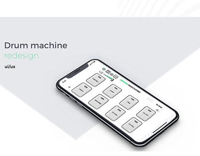 Drum Machine redesign|UI/UX